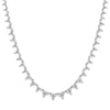 White Gold Diamond Luxe Choker Necklace