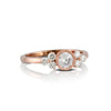 Rose Gold Diamond Bridal Ring