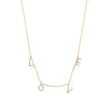Gold L O V E Necklace