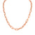 Rose Gold Chain Link Necklace