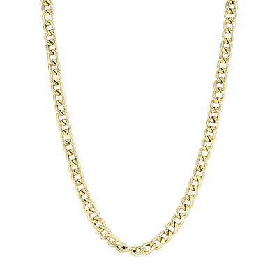 Gold Miami Chain Link Necklace