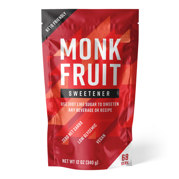 Monk Fruit Sweetener, 12 oz Bag