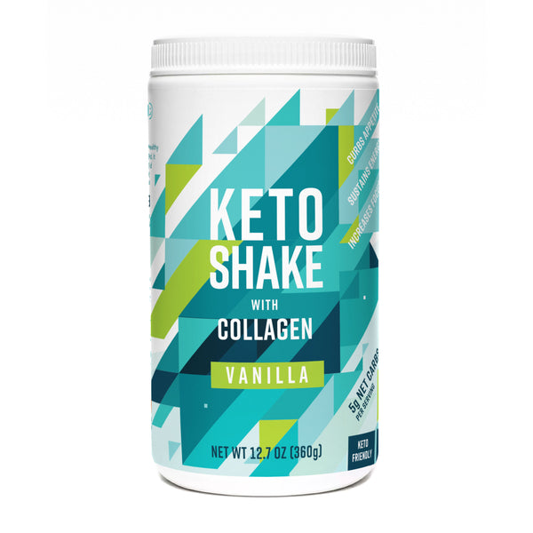 Keto Shake with Collagen, Vanilla