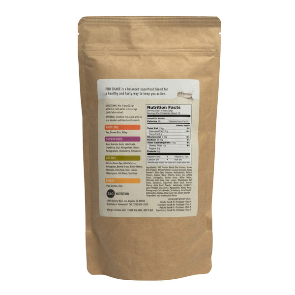 Pro Shake, Superberry, 15 oz Bag