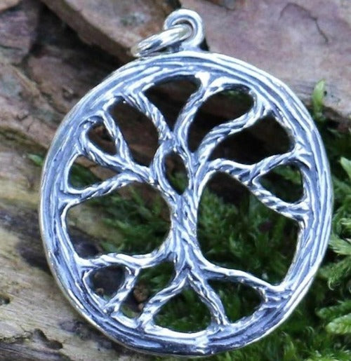 The  Sterling Silver  Tree of Life Pendant