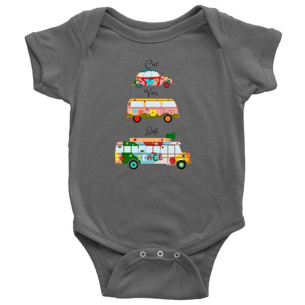 Hippie Car, Van and Bus Onesie