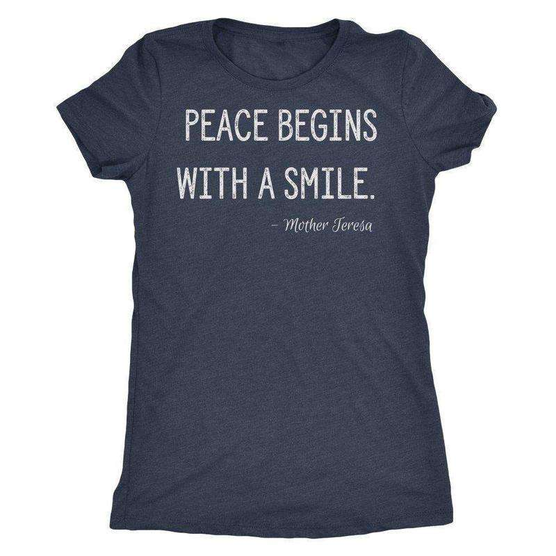 Mother Theresa on Peace T-shirt