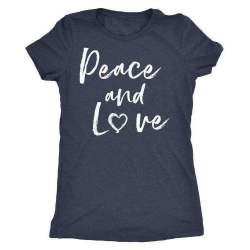 """Peace and Love"" T-Shirt"