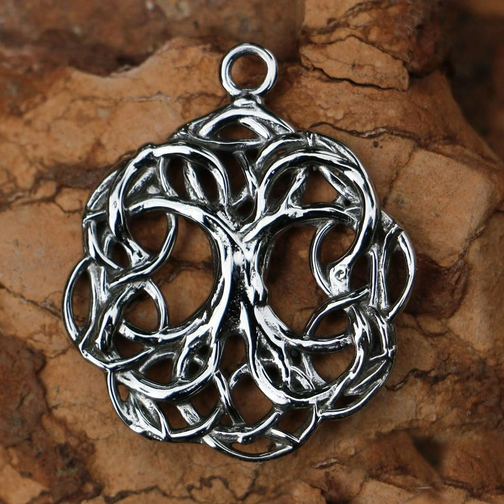 Tree of Life Pendant | Stainless Steel