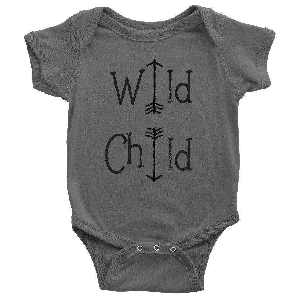 Wild Child Onesie, Toddler and Youth Tees