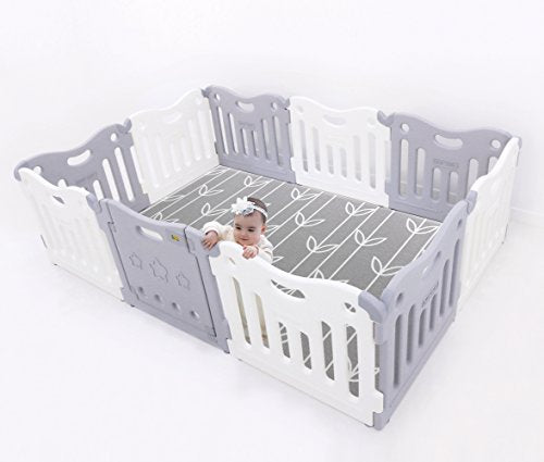 Baby Care Play Pen - Grey (Open Box)