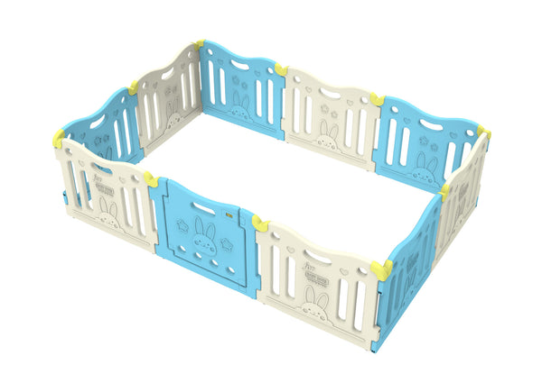 Baby Care Play Pen - Sky Blue (Open Box)