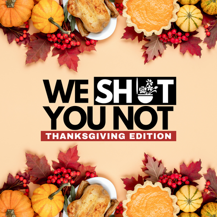 POTTYMINTS: We Sh*t You Not - Thanksgiving Edition!