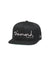 New Era OG Script Fitted - Black
