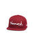 New Era OG Script Fitted - Burgundy