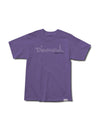 Trace OG Script Pigment Dye Tee - Grape