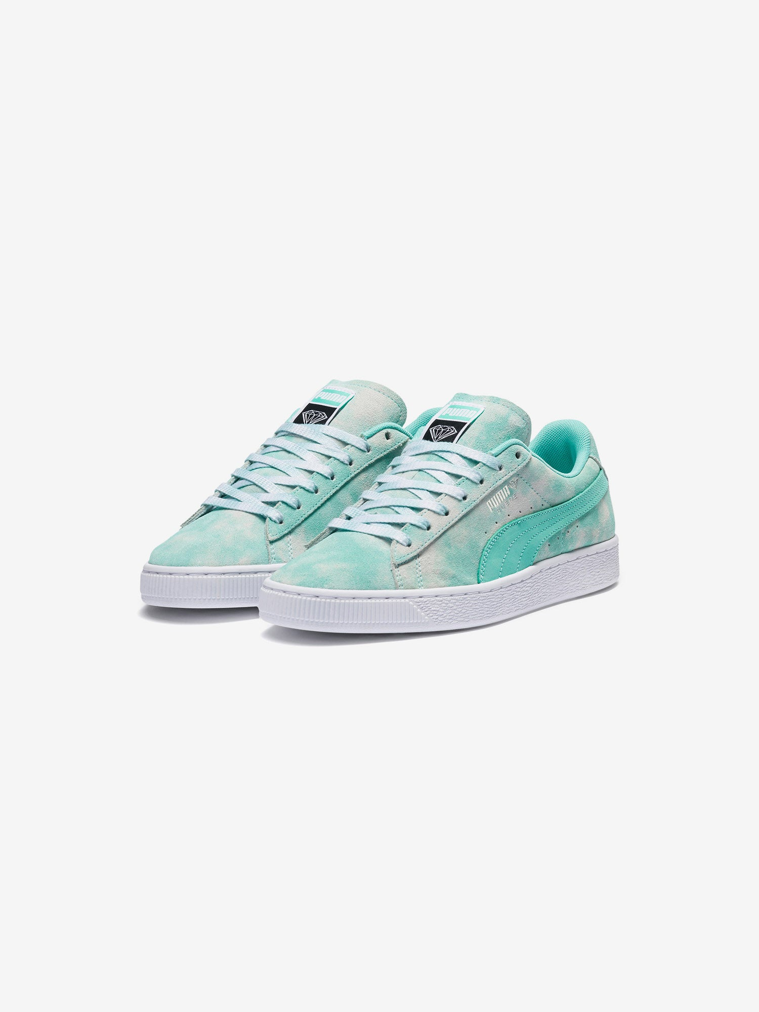 cheap for discount 63ec9 531ba Diamond x Puma Suede - Diamond Blue
