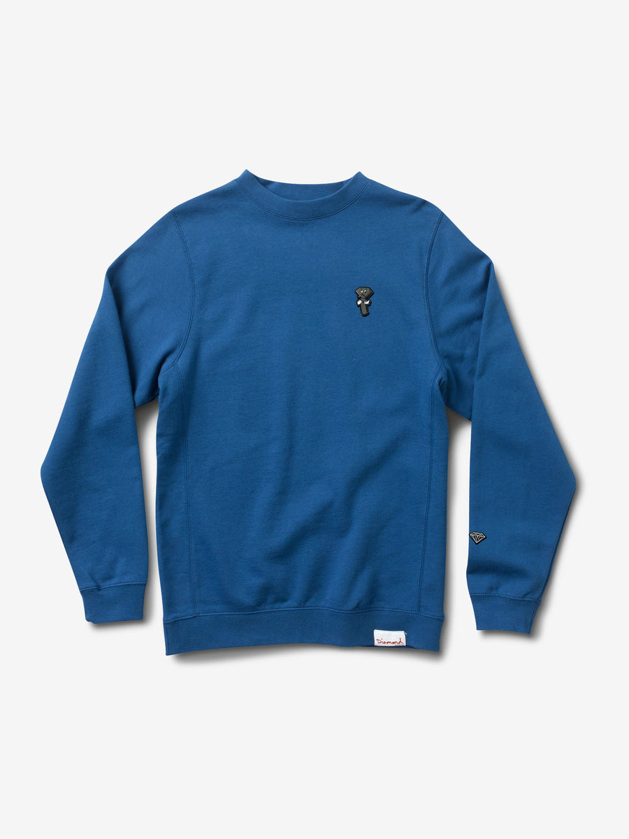 Screwed Up Crewneck - Royal Blue