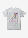 L'Amour Diamond Tee - White,  -  Diamond Supply Co.