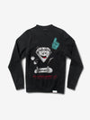 Number 1 Crewneck - Black