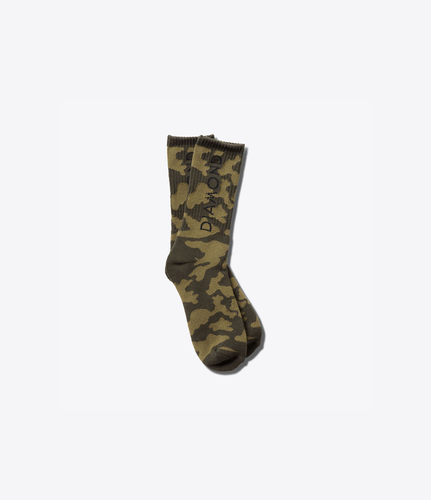 Camo High Socks, Socks -  Diamond Supply Co.