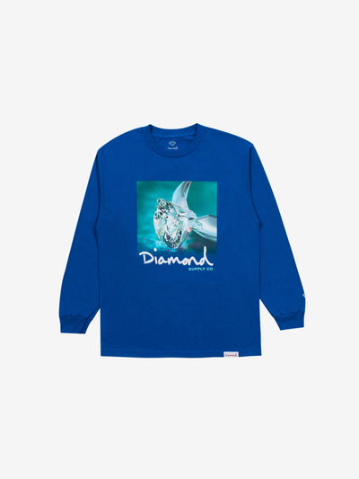 Shimmer Longsleeve - Royal Blue