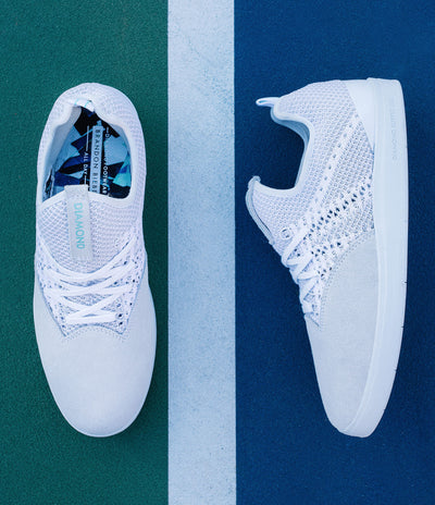 The All Day in White, Summer 2017 Diamond Footwear -  Diamond Supply Co.