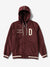 Days Of Glory Varsity Jacket - Burgundy