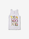 Botanical Tank - White, Summer 2019 -  Diamond Supply Co.