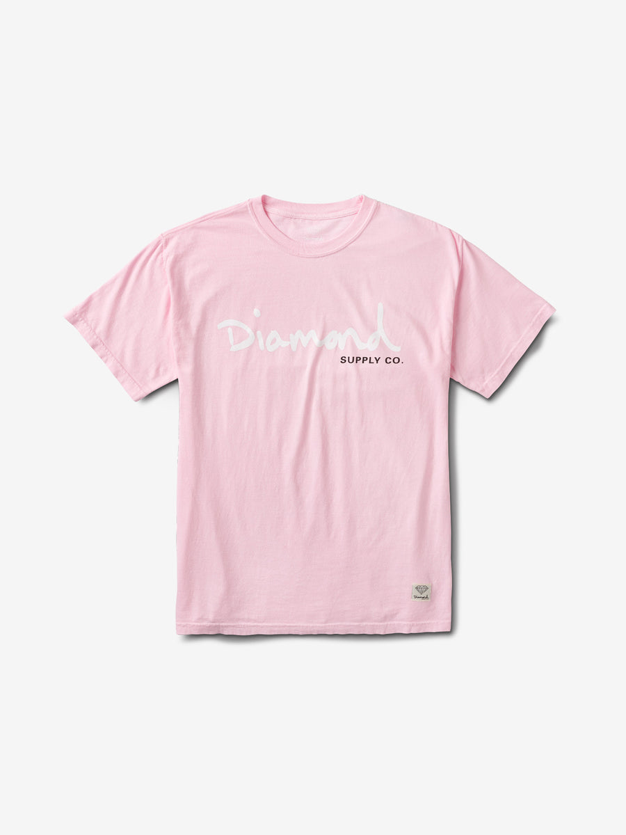 new products d8727 45cf8 OG Script Overdye Tee - Pink