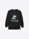 Skate OG Cutty Longsleeve - Black, Summer 2019 QS -  Diamond Supply Co.