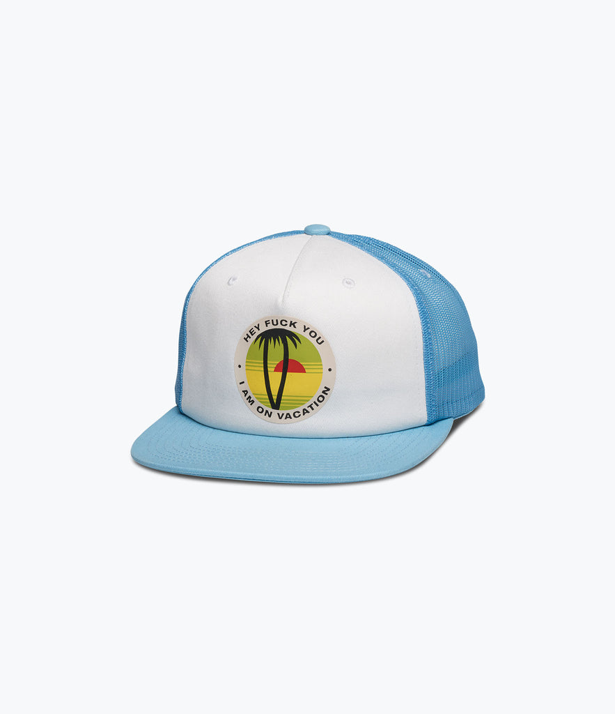 Vacation Trucker Hat, Summer 2017 Delivery 1 Headwear -  Diamond Supply Co.