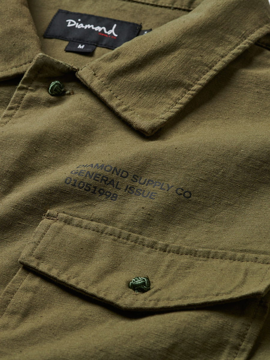 Military Woven - Olive