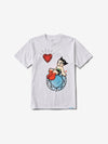 Diamond x Astroboy Heart Tee - White