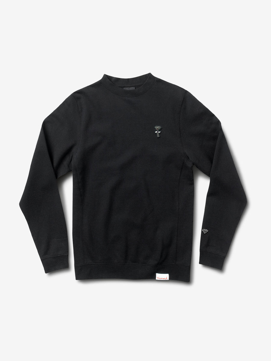 Screwed Up Crewneck - Black