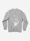 Hand Signs Crewneck - Heather Grey