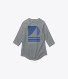 Stripe Boat 3/4 Sleeve Tee, Summer 2016 Delivery 1 Tees -  Diamond Supply Co.