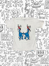 Diamond x Haring Stand Together Tee - White, Haring -  Diamond Supply Co.