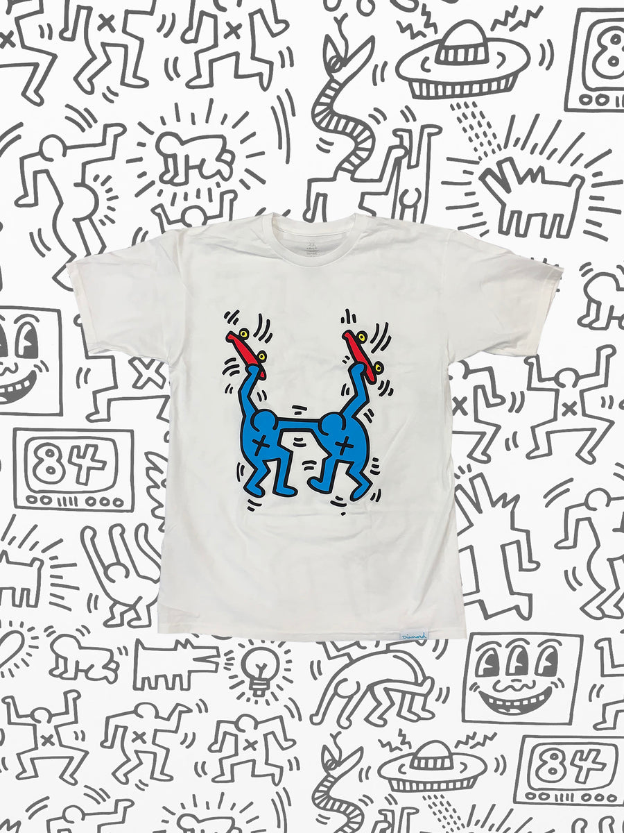 Diamond x Haring Stand Together Tee - White