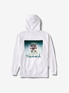 Gleam Sign Hoodie - White