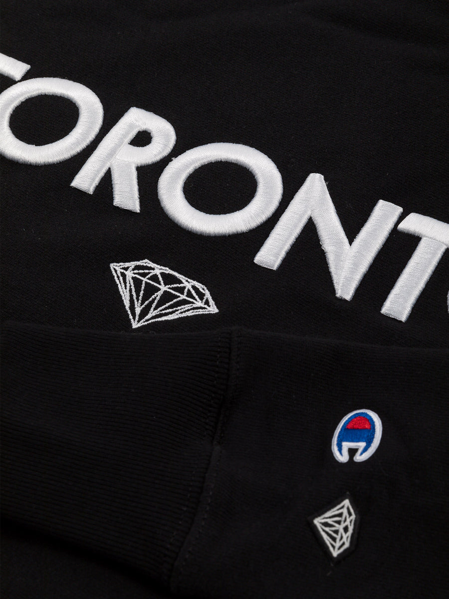 Diamond x Kadri Crewneck - Black