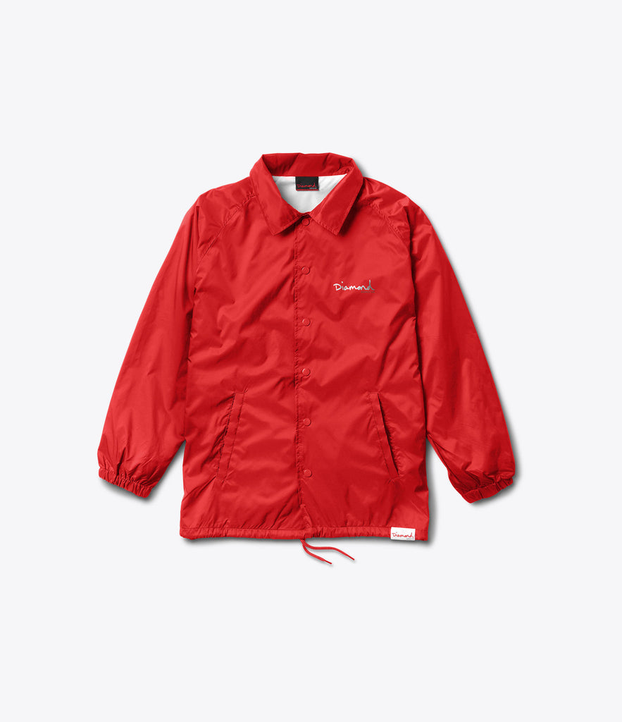 OG Script Coaches Jacket, Summer 2016 Delivery 1 Jackets -  Diamond Supply Co.