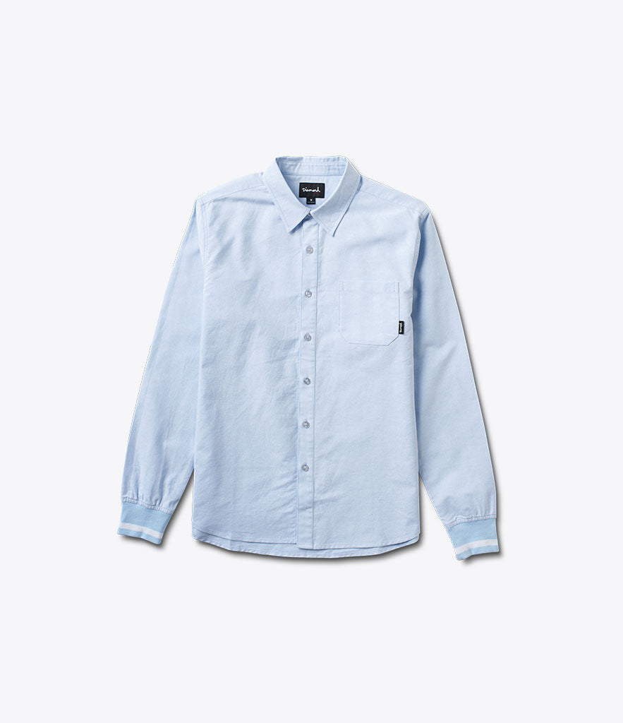 Trillion Oxford Button-Up, Fall 2016 Tops -  Diamond Supply Co.