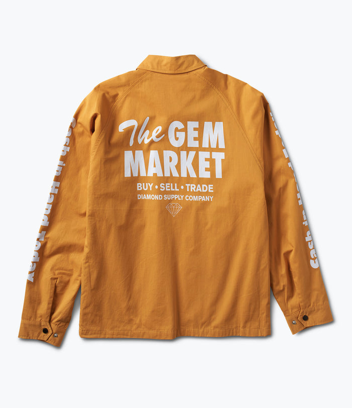 Gem Speedway Jacket, Fall 2017 Delivery 1 Cut-N-Sew -  Diamond Supply Co.
