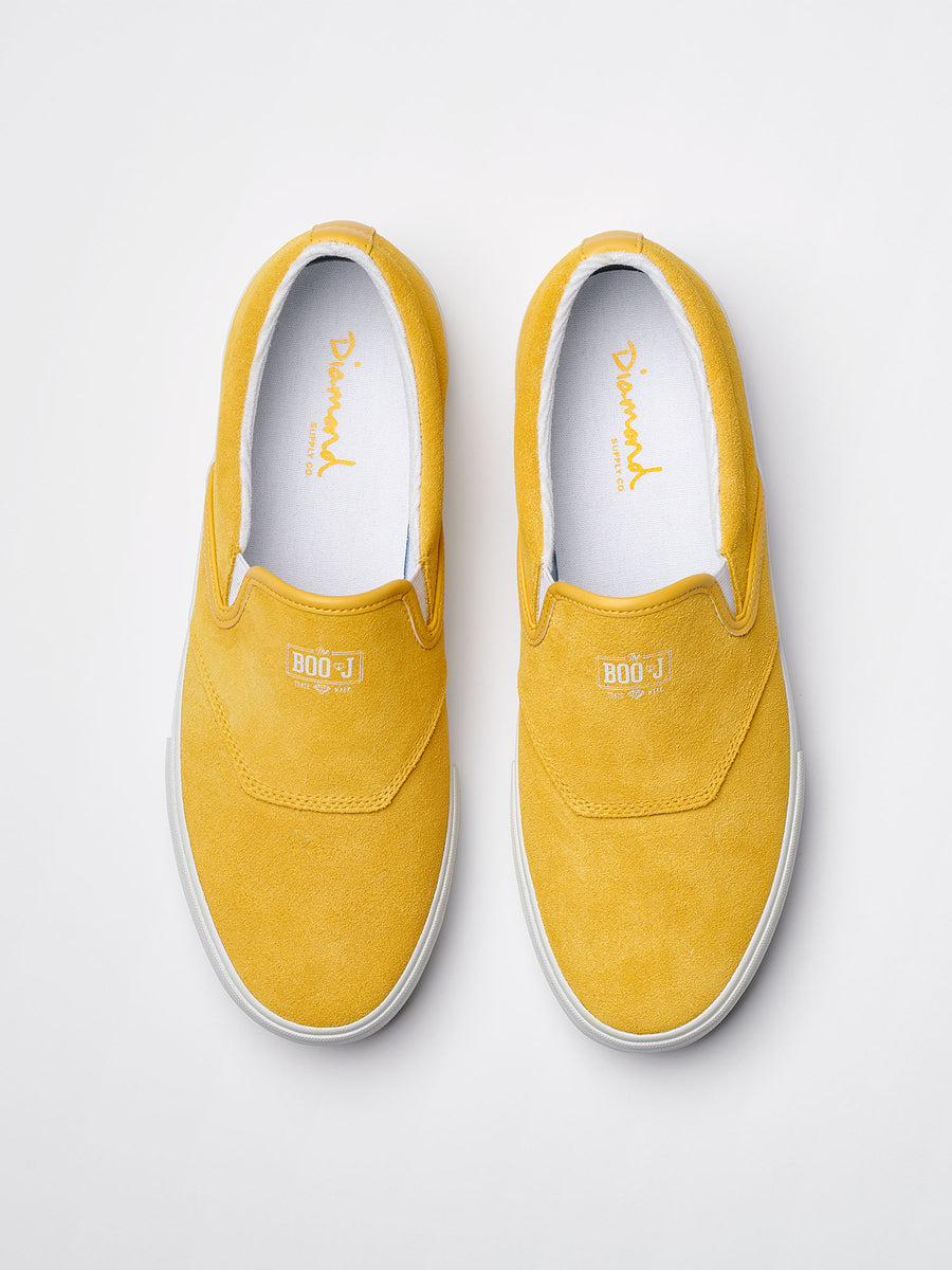 FOOLS GOLD BOO J - Yellow Suede, Holiday 2018 Footwear -  Diamond Supply Co.