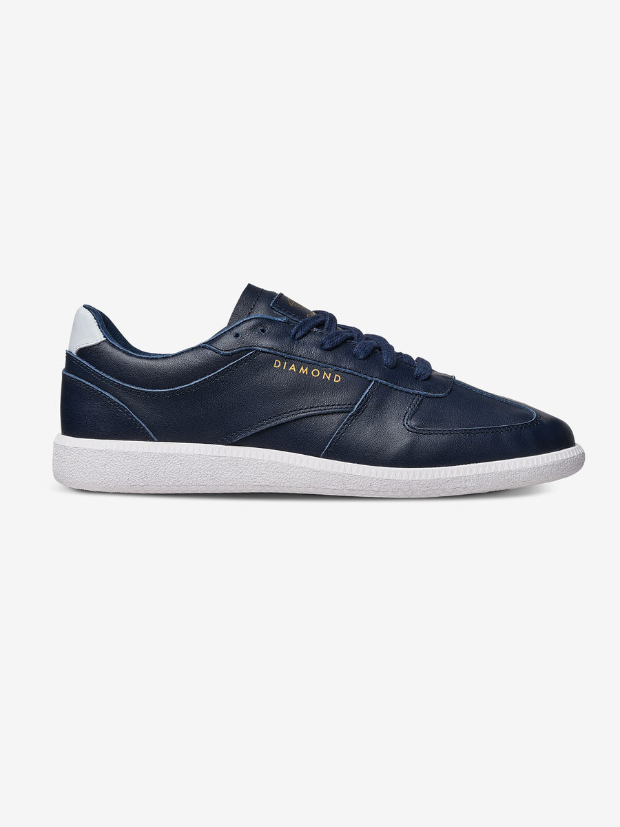 Milan LX - Navy Leather, Holiday 2018 Footwear -  Diamond Supply Co.