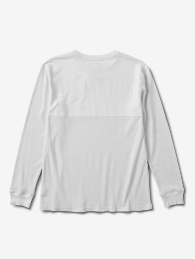 Diamond Thermal Longsleeve - White