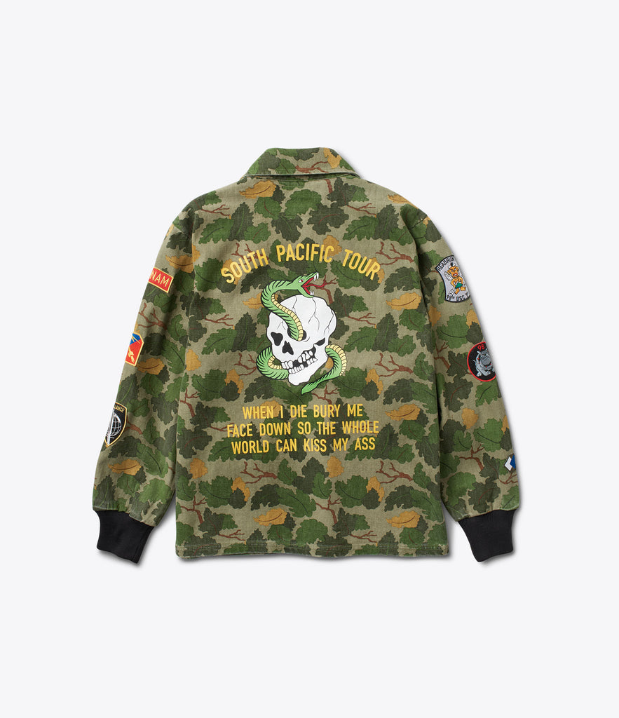 Pacific Tour Patch Jacket, Spring 2017 Delivery 1 Cut-N-Sew -  Diamond Supply Co.
