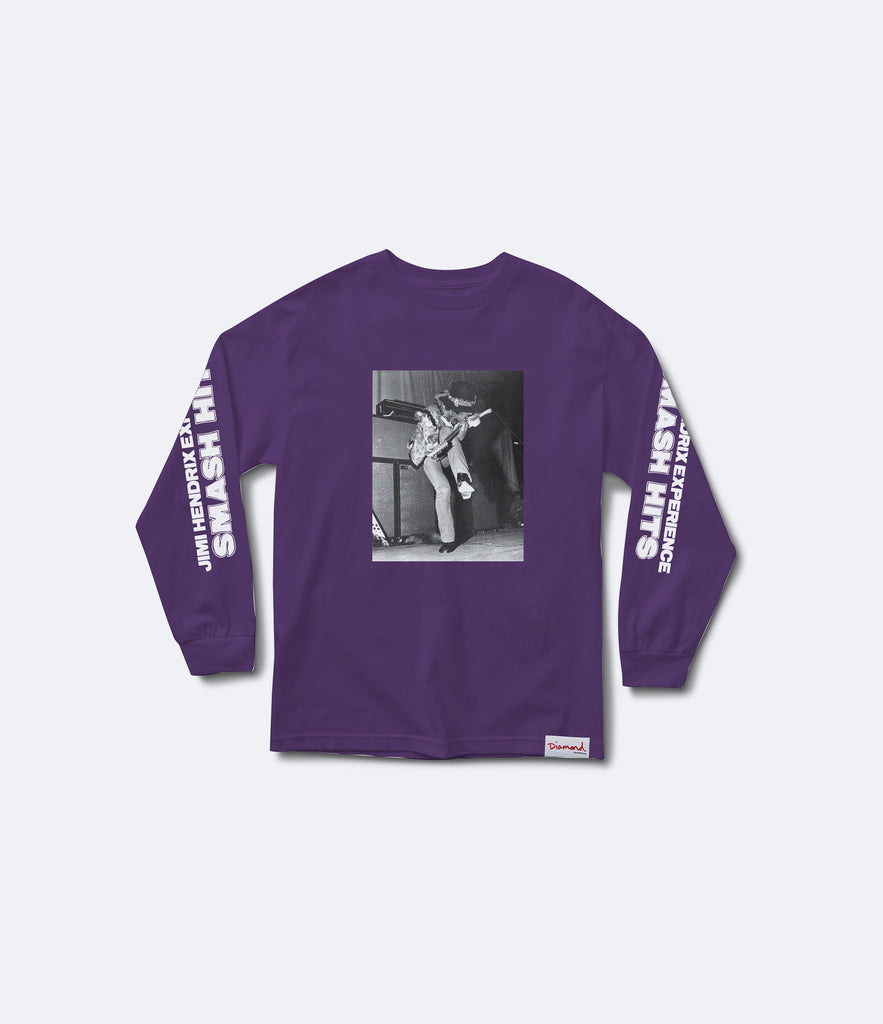 Jimi Hendrix Experience Longsleeve Tee, Spring 2017 Delivery 1 Tees -  Diamond Supply Co.