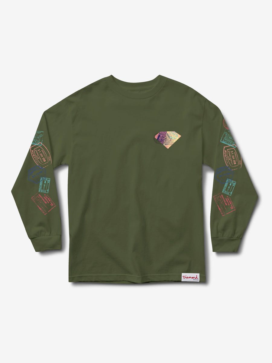 Trotter Passport Longsleeve - Green